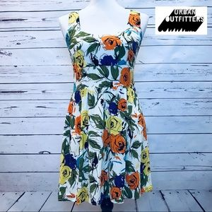 Pins & Needles Urban Outfitters Floral Dress
